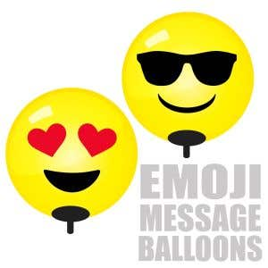 Emoji Balloons will draw attention in an instant!