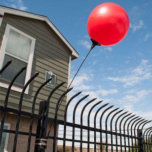 Reusable Balloon Fence Brackets - All Colors