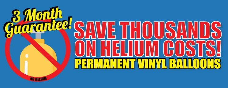 No Helium Reusable Balloons