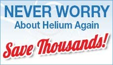 Never Worry About Helium Again